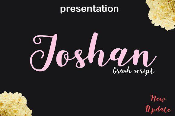 Joshan update by cooldesignlab on @creativemarket