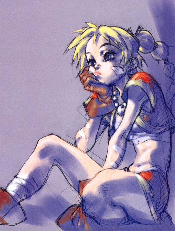 Kid (stupid name for a thief girl) concept art for CHRONO CROSS