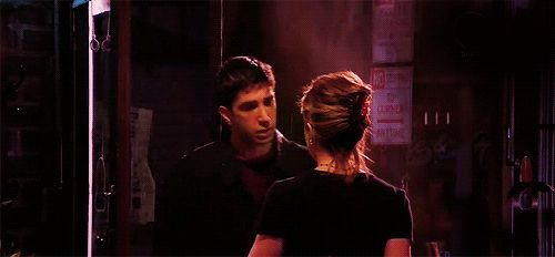 "And most importantly, when Ross finally acted on his emotions and kissed Rachel at Central Perk. | 33 Of The Most Memorable Ross Geller Moments On ""Friends"""