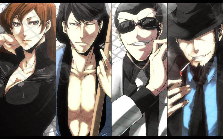 Lupin the Third gang