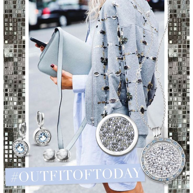 Let's wear Fifty Shades of Blue & Grey today. #MiMoneda
