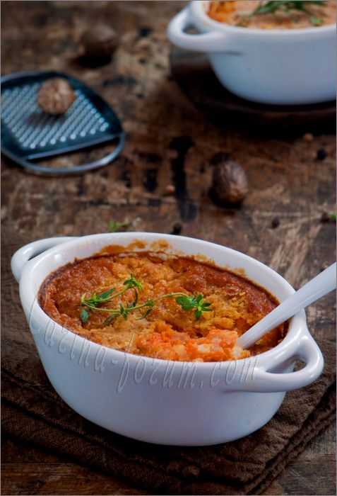 Finnish Carrot Casserole - Porkkanalaatikko ...  ...definitely the next recipe I will try! Loved it!