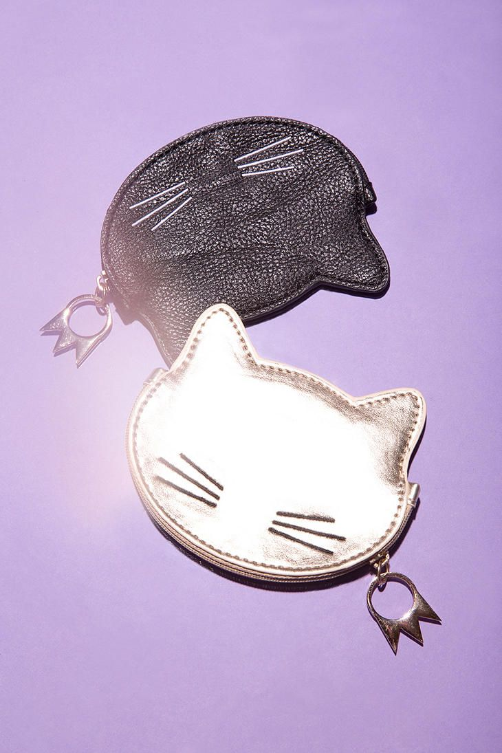 Cooperative Kitty Zip-Pouch