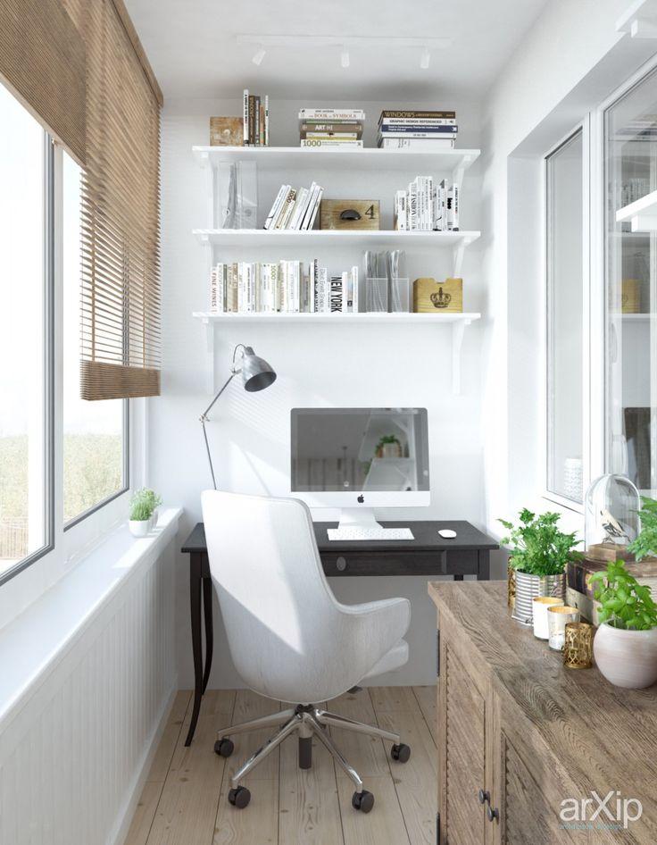 Фото Загородный уют в городской квартире (балкон) - интерьер, квартира, дом, балкон, лоджия, терраса, 0 - 10 м2, кантри