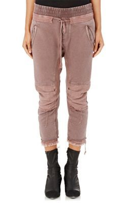 Haider Ackermann French Terry Moto Sweatpants at Barneys New York