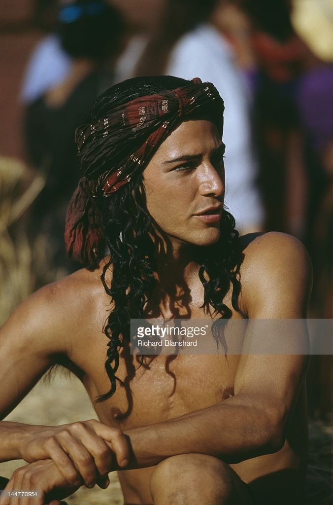 American actor Keanu Reeves stars as Siddhartha Gautama, who later became known as the Buddha, in the film 'Little Buddha', circa 1992.