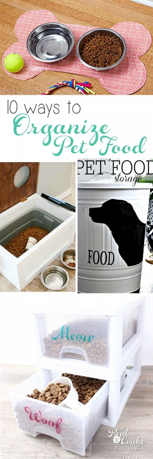 Letu0027s Talk About Pet Food And 10 Ways To Organize It