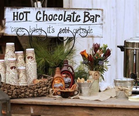 164 best images about entertaining drinks punches for Coffee bar at wedding reception
