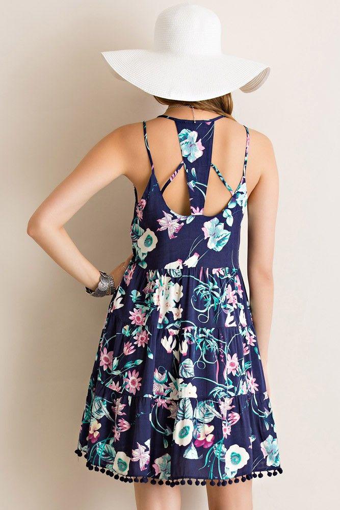 Pom Poms Up Dress