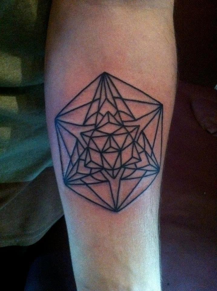 Custom Geometric Mandala Tattoo - Bayside Tattoo, Traverse City Tattoo Shop