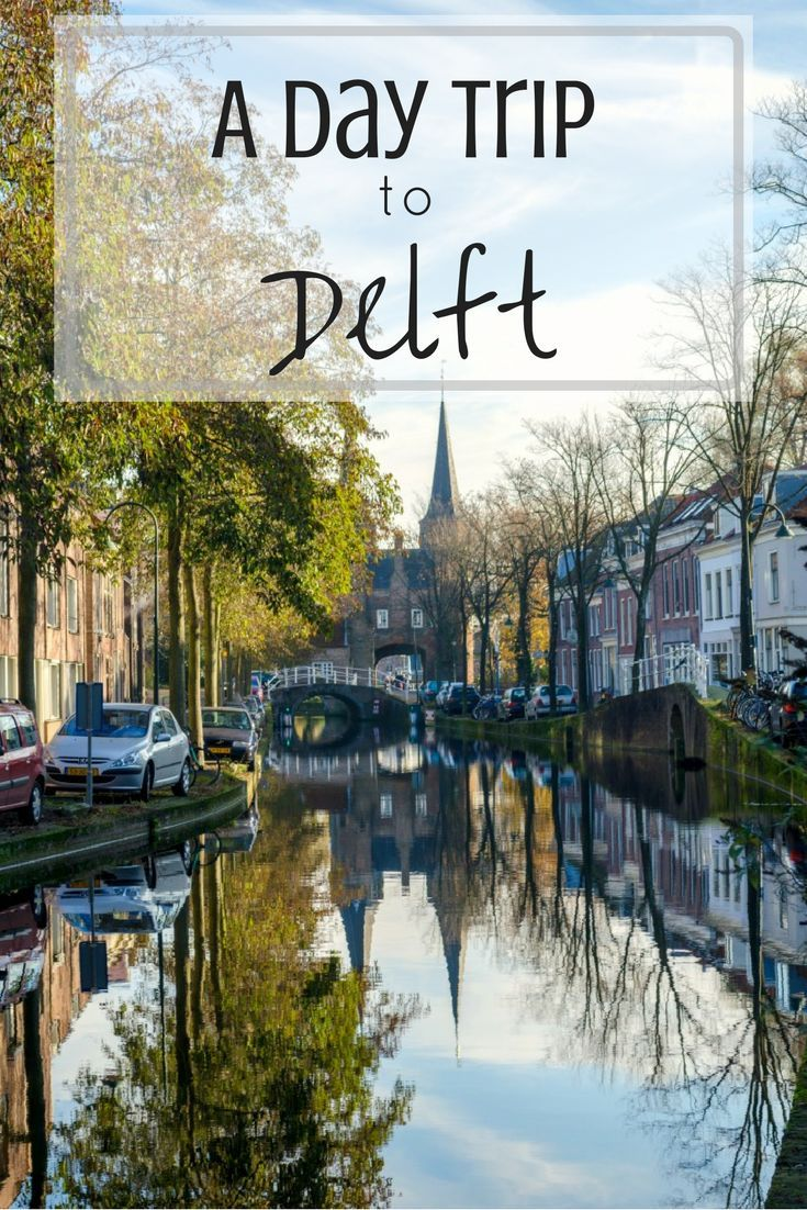 This cute town called Delft is close to The Hague and is a great day trip from Amsterdam. You'll want to take your camera to this photogenic place in the Netherlands | #delft #thenetherlands