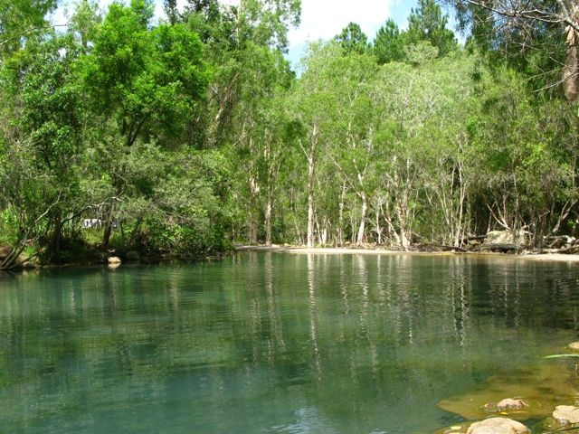 Byfield State Forest Qld Australia. This is not a National Park, however it is right next to one. You get bush walks, swimming and much more and is great for a day or longer as camping is available.