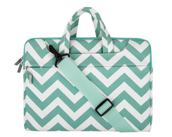 Mosiso Chevron 11.6 13.3 15.6 inch Laptop Shoulder Bag Strap for Macbook Pro Air 11 12 14 13 15 Asus Acer Notebook Handbag Case