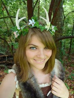 Monochrome Sparkle: How to Make Deer Antlers