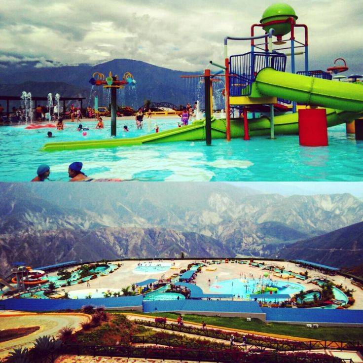 Chicamocha Canyon Water park on a cliff!