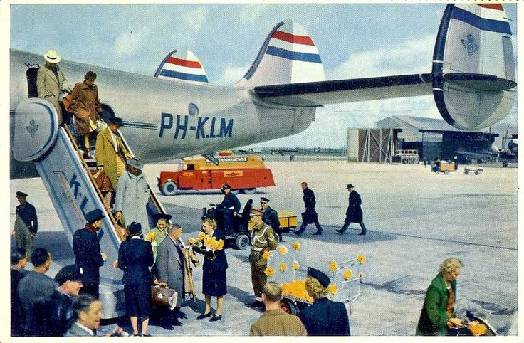 Airports in the Netherlands (Famgus Aviation Postcards)