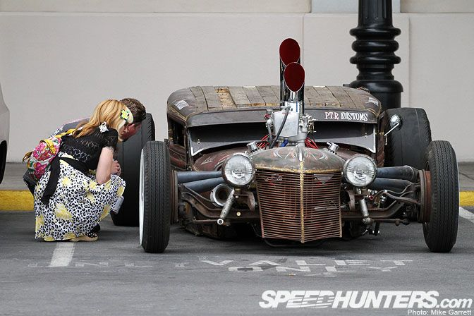 Low ridin' RatRod