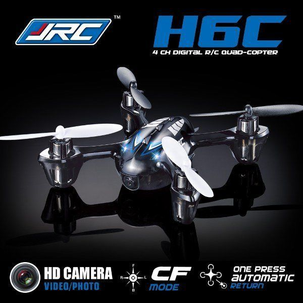 New Version JJRC H6C 2.4G 4CH Headless Mode Quadcopter Helicopter w/ 2MP Camera