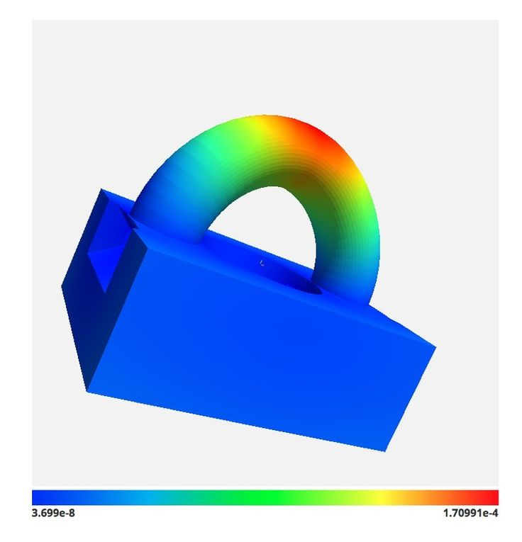Cloud-Based 3D Printed Part Stress Analysis Available #3DPrinting