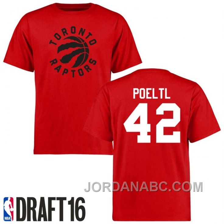 http://www.jordanabc.com/jakob-poeltl-torto-raptors-42-2016-nba-draft-pick-name-number-red-tshirt-on-sale.html JAKOB POELTL TORTO RAPTORS #42 2016 NBA DRAFT PICK NAME & NUMBER RED T-SHIRT ON SALE Only $69.00 , Free Shipping!