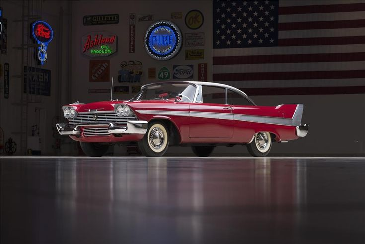 "1958 PLYMOUTH FURY ""CHRISTINE"" - Barrett-Jackson Auction Company Ron Pratte collection, Scottsdale Jan' 15"