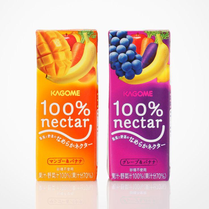 「100%ネクター」果実野菜ジュース - WORKS