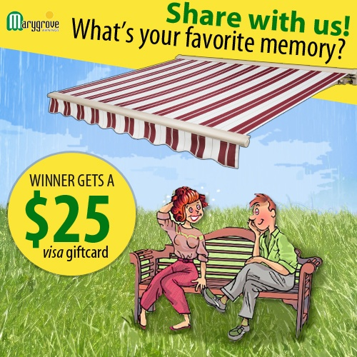 Share With Marygrove Awnings Your Favorite Memory Under An