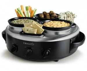 Love this CrockPot Triple dipper! It's my newest kitchen gadget!