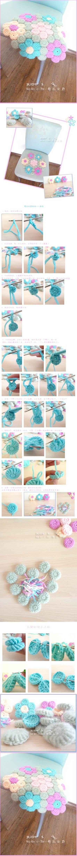 een hoop gedoe, maar dan heb je wel wat! DIY Flower Hook Rug DIY Flower Hook Rug