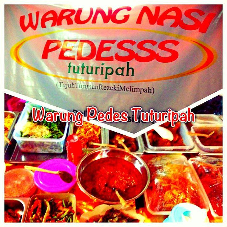 Warung nasi PEDESSS TUTURIPAH-pd indah JKT