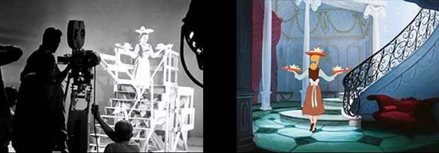 Behind the Scenes: Cinderella (1950) | Live action, Cinderella disney, Cinderella