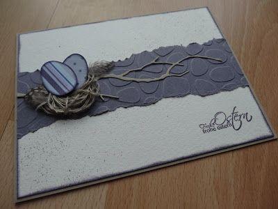 Jenny's Papierwelt: Karte ~ Osternest~