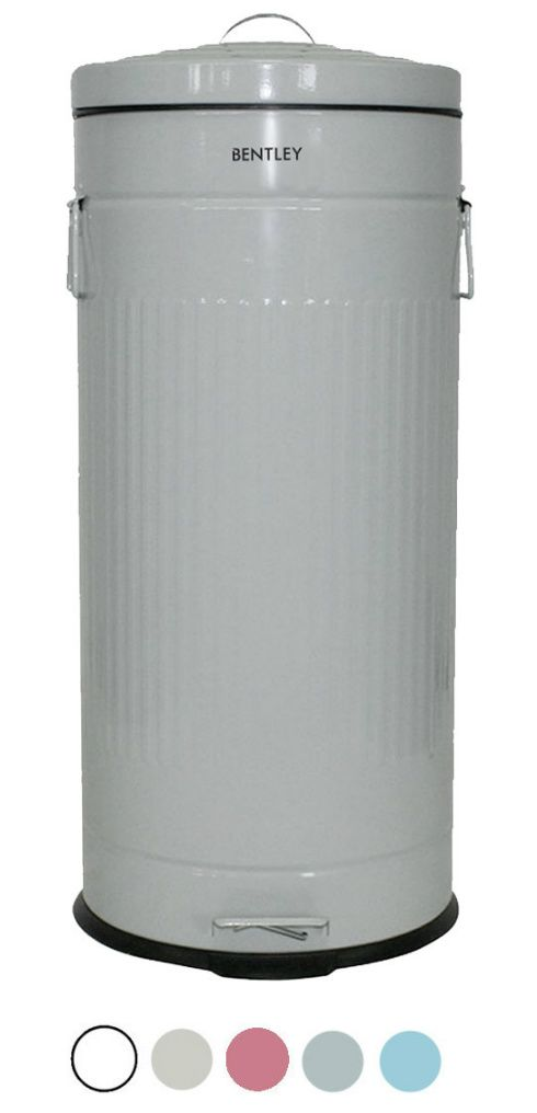 30L-Retro-Kitchen-Bin-can-Grey-4b