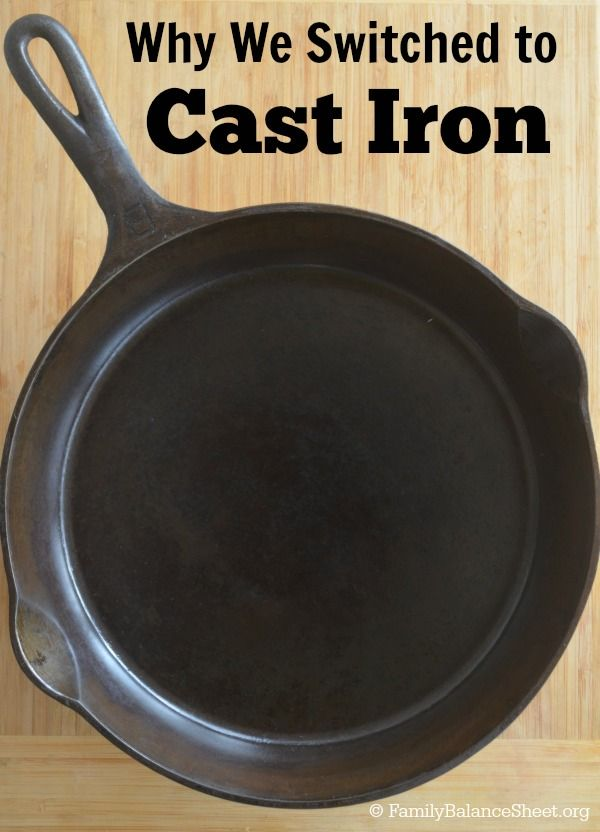 Why we replaced our teflon pans with Cast Iron Skillets. And how I restored & reseasoned two older Cast Iron Skillets that were my grandmothers.