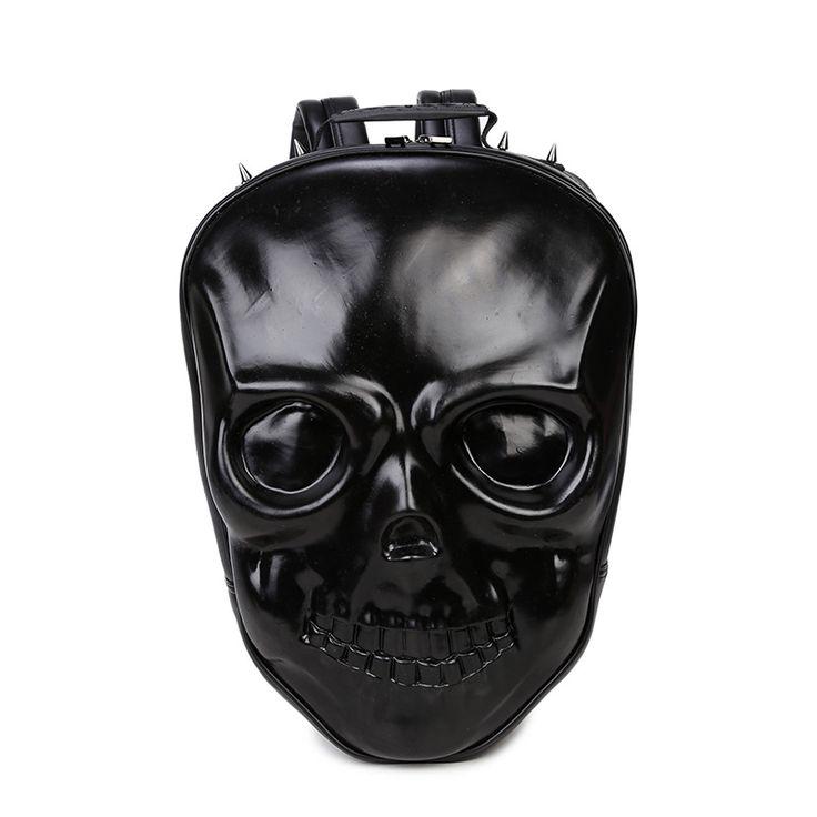 Skull Molded Backpack //Price: $59.69 & FREE Shipping //     #skull #skullinspiration #skullobsession #skulls