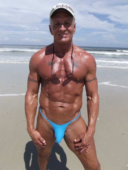 Swimwear for mature men