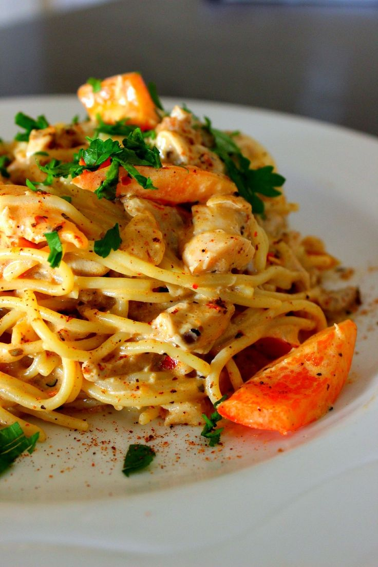 Creamy Cajun Chicken Pasta You all know how much I love store-bought rotisserie chicken. During nights that I just cannot cook a home-cooked meal from start to finish, I often hop to my local market and pick up a rotisserie chicken and pair it with steamed vegetables and white rice....