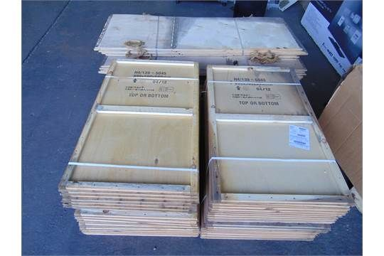 20 x Flat Packed Wooden Shipping Crates/Packing Boxes. They are ideal for General storage purposes or for shipping goods.