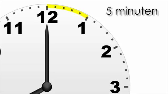 5 en 10 minuten voor/over