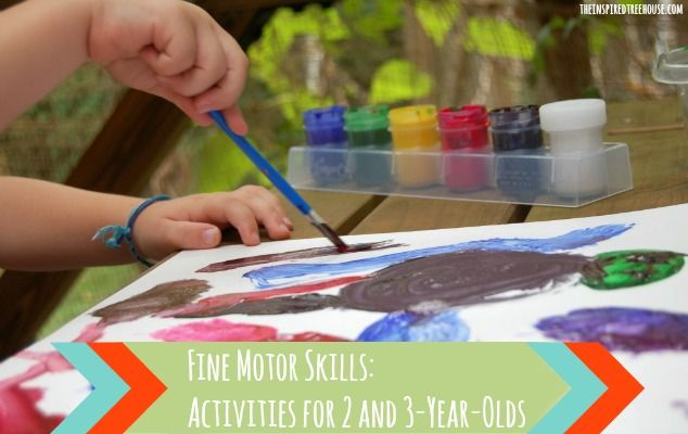 fine motor skills activities for 2 and 3 year olds