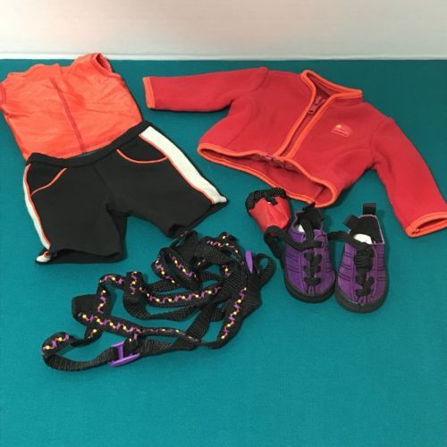 American-Girl-Doll-Rock-Climbing-Outfit-Retired