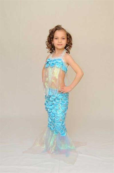 Детский карнавальный новогодний костюм русалочки