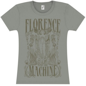 Florence and The Machine Goddess Girlie T-Shirt- $25.00