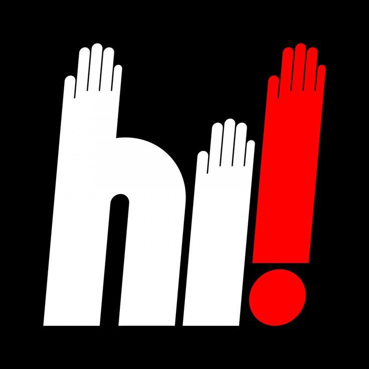 HI! Digitized by Craig Redman via Friends of Type