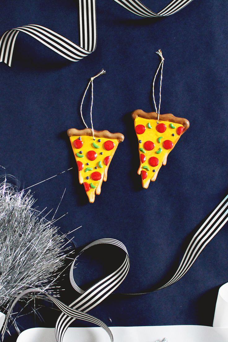 Diy Cheesy Pizza Ornament For Christmas  Fish & Bull
