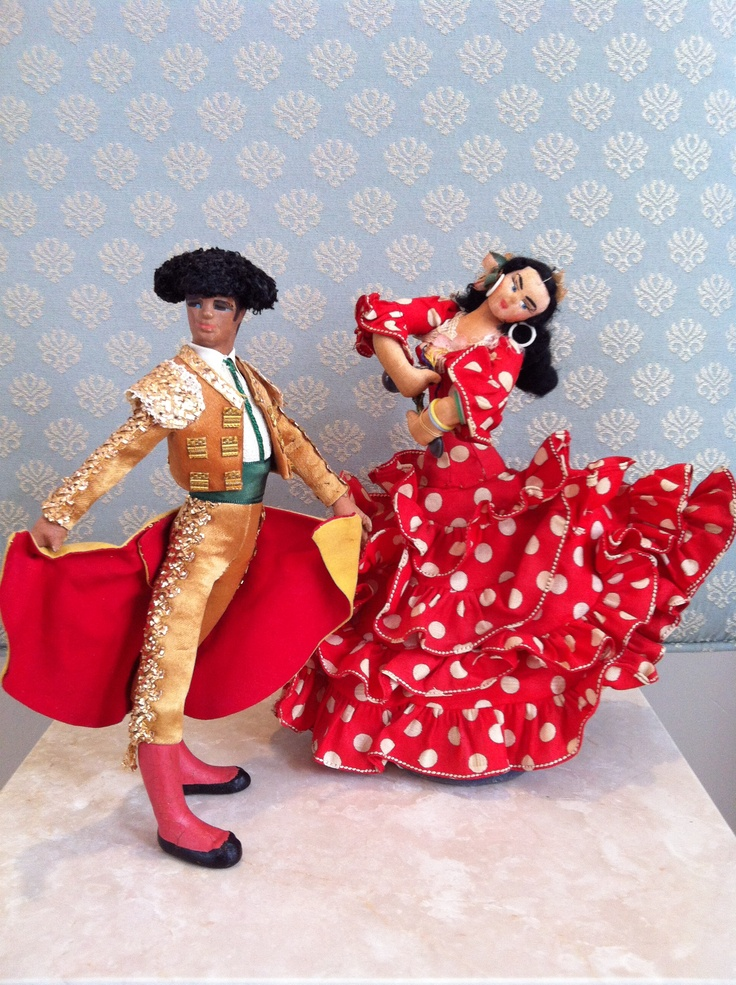 Spanish Bullfighter; Spain~Layna Dancer (collection of Rebekah M. Bales-Dunford)