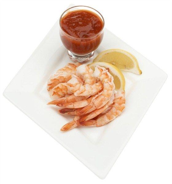 Креветки в коктейльном соусе