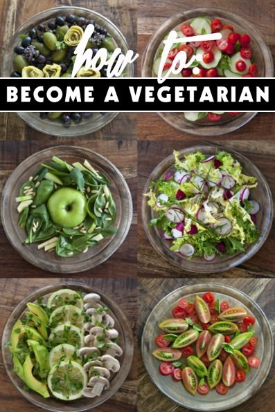 How to become a Vegetarian-this is a great list of things that most people don't think about when they become a vegetarian...