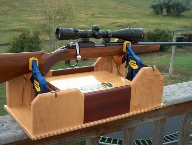 Homemade Gun Cleaning Stand Plans Projects Near Guns Rifle Stand Shooting