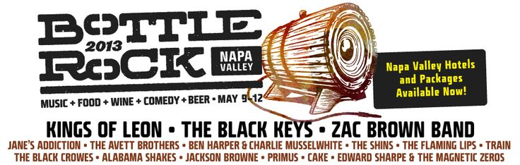 Who's already excited for next year's Bottle Rock Napa Music Festival? Visit http://bottlerocknapavalley.com/ for more info
